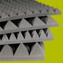 Pannello piramidale in poliuretano espanso Akustik stop